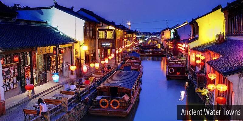 Longest River Of Asia - Ancient Water Towns
