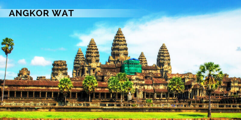 Famous Landmarks in Asia - Angkor Wat