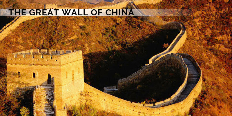 Famous Landmarks in Asia - The Great Wall Of China