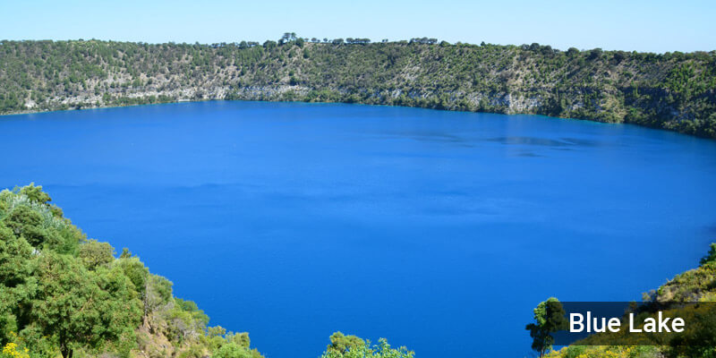 Blue Lake - Lakes in Australia