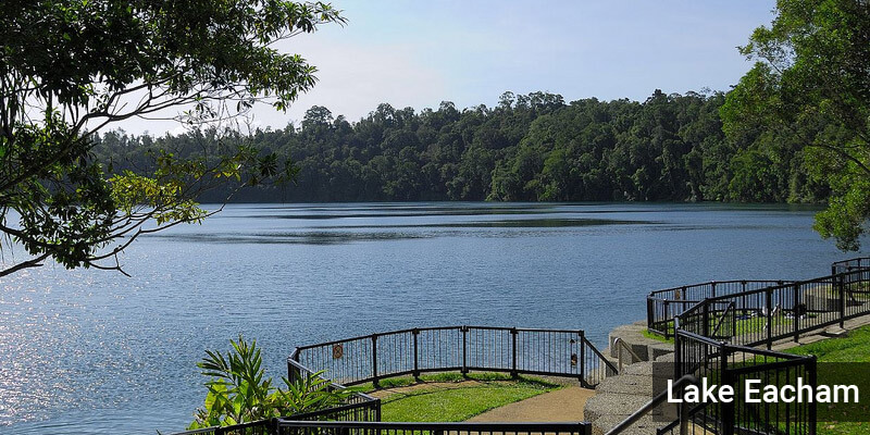 Lake Eacham - Lakes in Australia