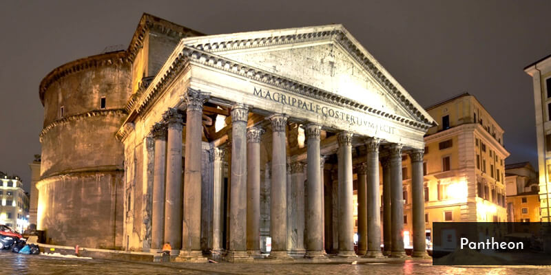 Tourist Attraction in Europe - Pantheon