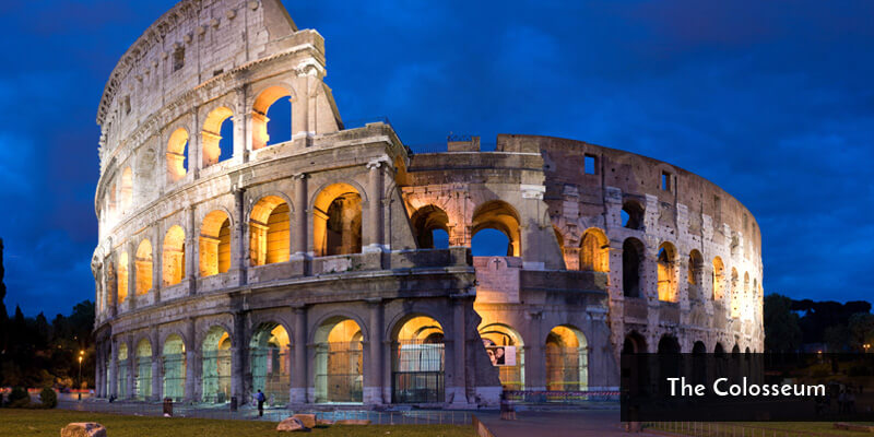 Tourist Attraction in Europe - The Colosseum