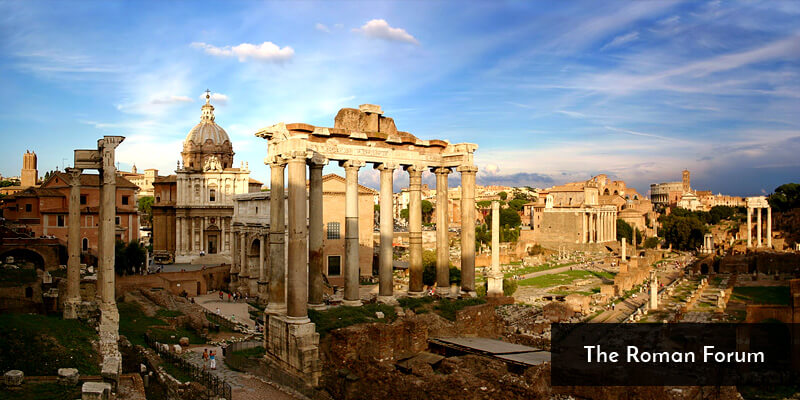 Tourist Attraction in Europe - The Roman Forum