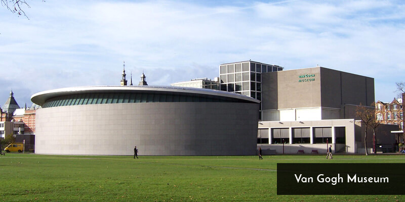 Tourist Attraction in Europe - Van Gogh Museum