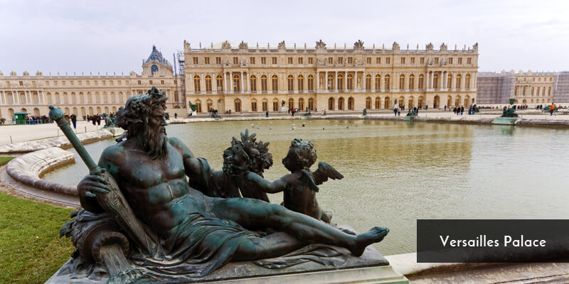 Tourist Attraction in Europe - Versailles Palace