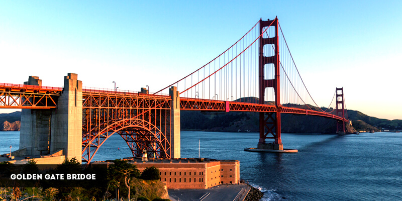Best Places to Visit in North America - Golden Gate Bridge