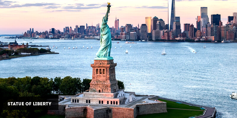 Best Places to Visit in North America - Statue of Liberty