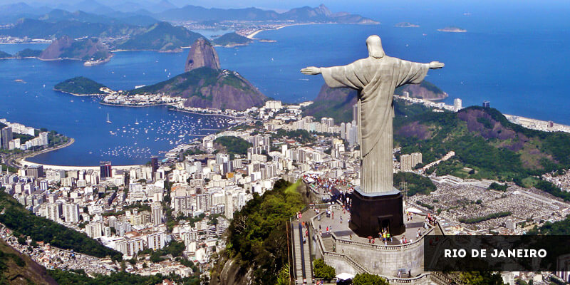 Famous Places to Visit in South America - Rio de Janeiro